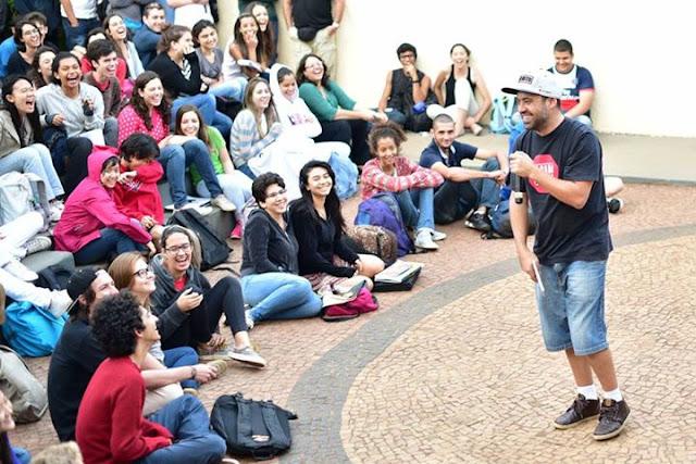 Poesia de rapper do Inquérito cai em vestibular de colégio da Unicamp
