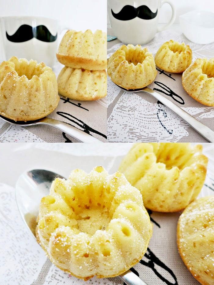 Zitronen Buttermilch Mini-Gugls