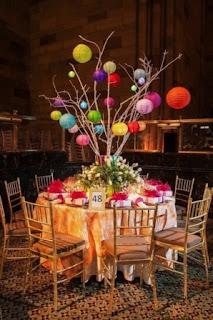 colorful, paper lanterns, dramatic, Burak and Devine