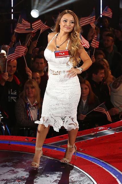 Actress, Singer, Model @ Tila Tequila Celebrity Big Brother 2015 UK vs USA Elstree Studios in Borehamwood