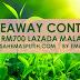 Menang Giveaway Rm700 Lazada By Emas Putih