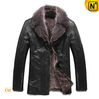 Mens Designer Fur Jacket