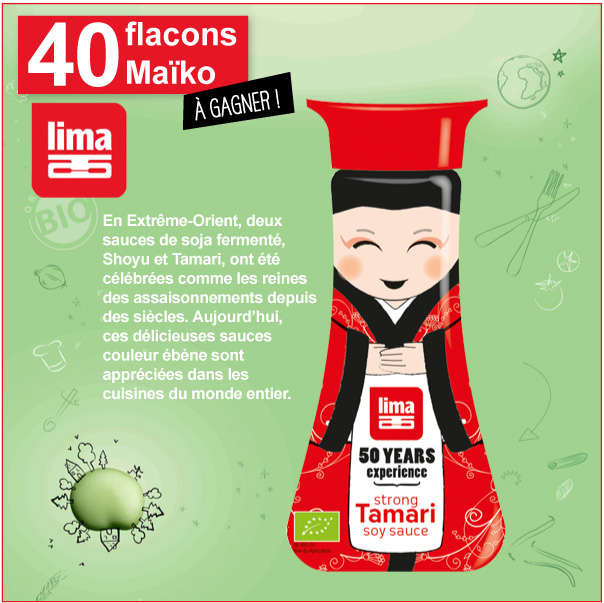 40 flacons Maîko Lima