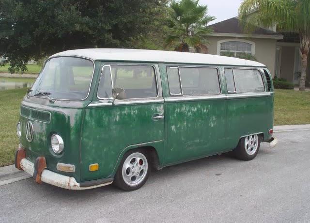 1970 Vw Bus Deluxe 9 Passenger Vw Bus