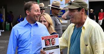 Rob Astorino Meets Democratic Challenger Randy Credico