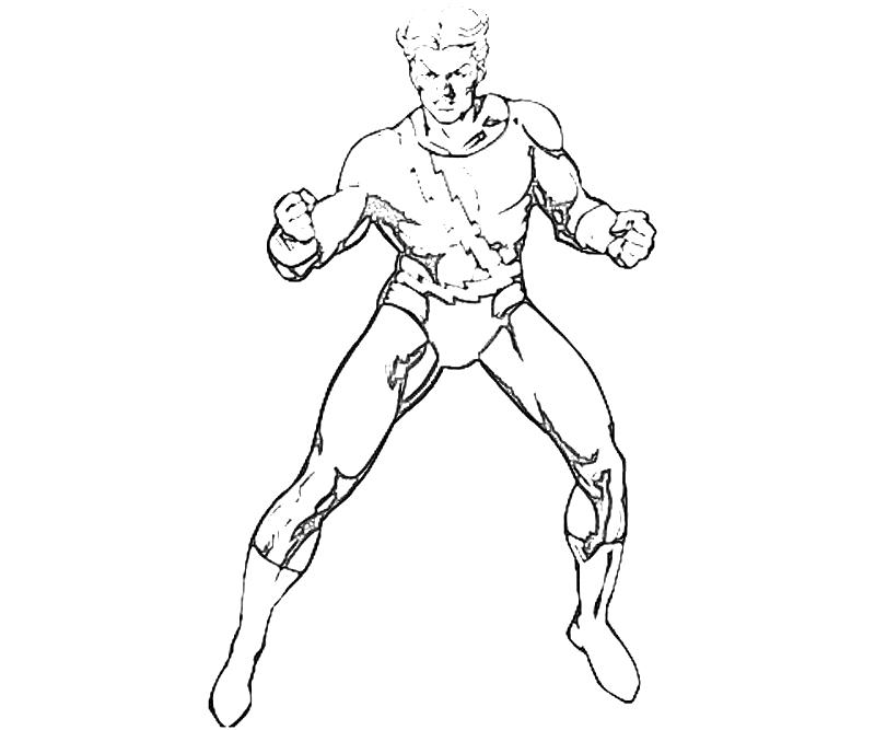 printable-x-men-quicksilver-character_coloring-pages