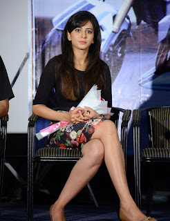 Actress Rakul Preet Singh Pictures in Floral Short Skirt at Rough Teaser Launch  31.jpg