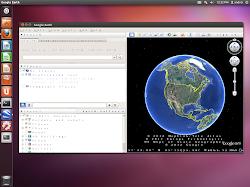 google earth font bug ubuntu