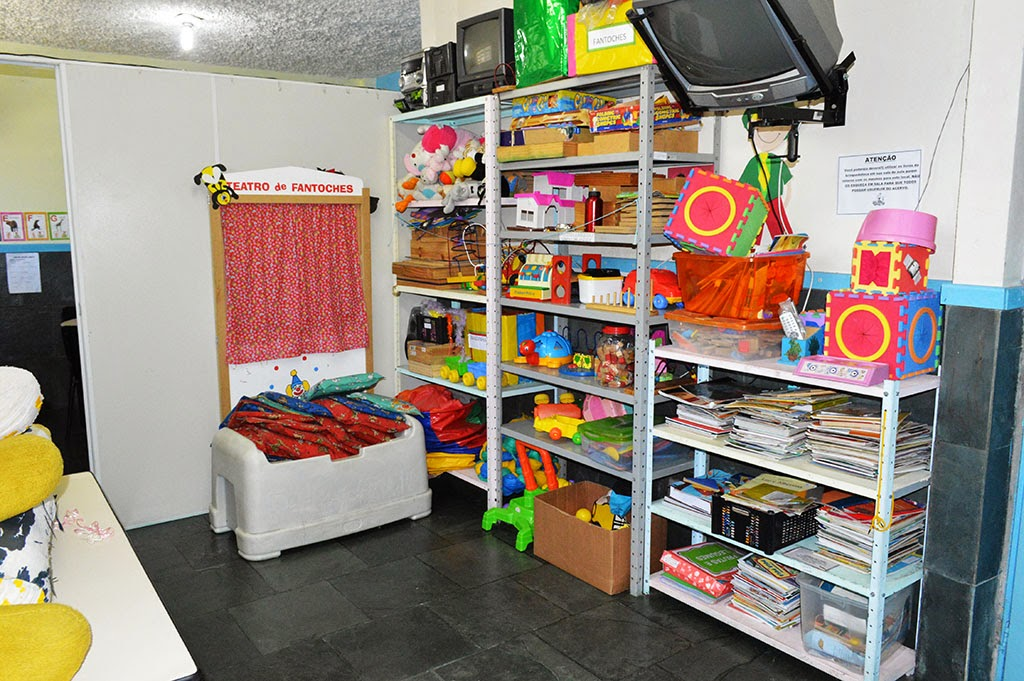 A brinquedoteca é um instrumento importante para a Educação Infantil