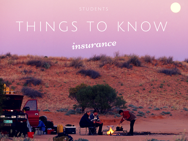 Things students must know about insurance.