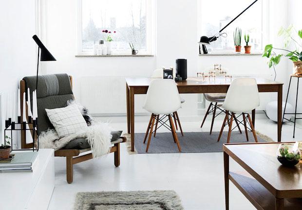 my scandinavian home: A Danish home is given a fresh, monochrome ...