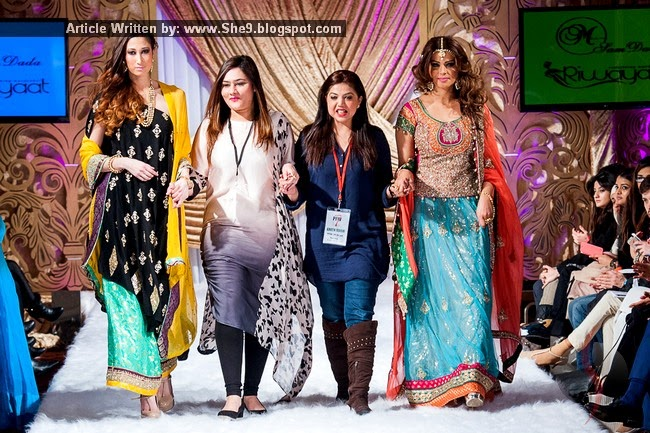 Fatimah and Sam Dada Collection at PFW London 2015 Season-7