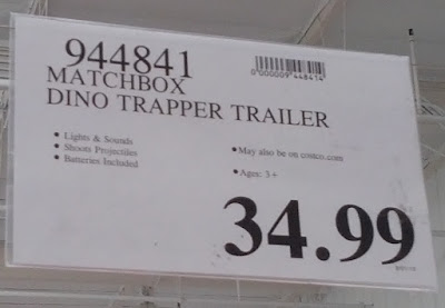 Deal for the Matchbox Dino Trapper Trailer Adventure Pack at Costco