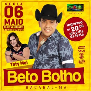 SEXTA DIA 06 DE MAIO - VANGUARD