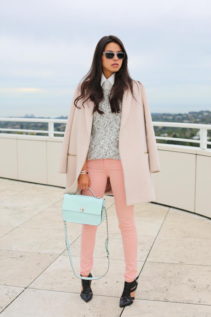 Vivaluxury Fashion Blog By Annabelle Fleur Pastel Mix Win Shoemint Heels