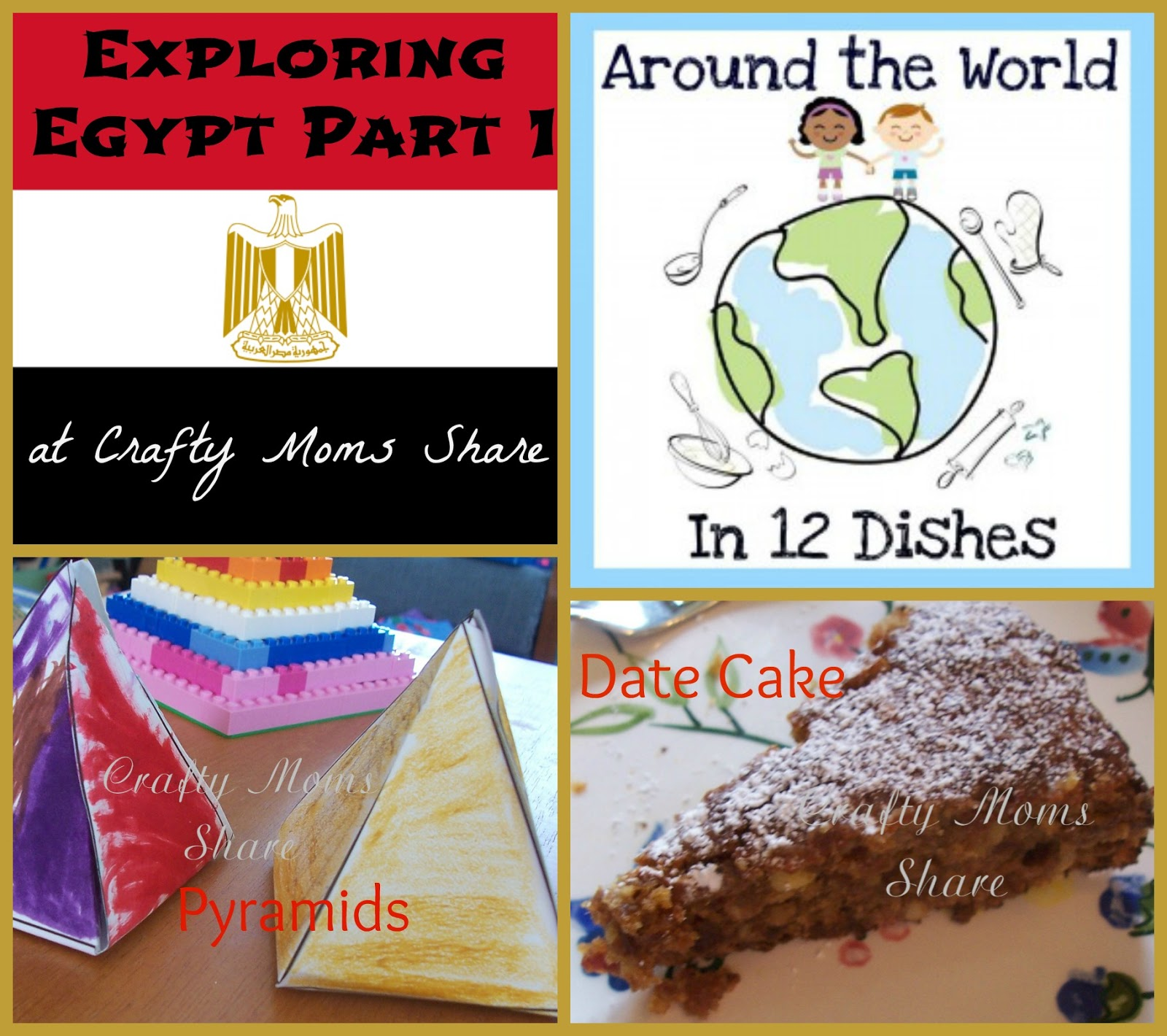 Crafty moms share around the world in 12 dishes egypt part 1 around the world in 12 dishes egypt part 1 date cake forumfinder Images
