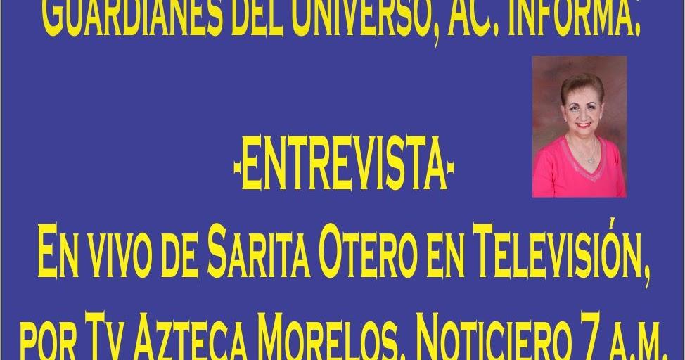 Mensajes Alaniso: Entrevista en vivo a Sarita Otero por TV