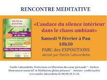 """Salon du Bien être, Conférence : """"L'audace du silence intérieur dans le chaos ambiant"""""""