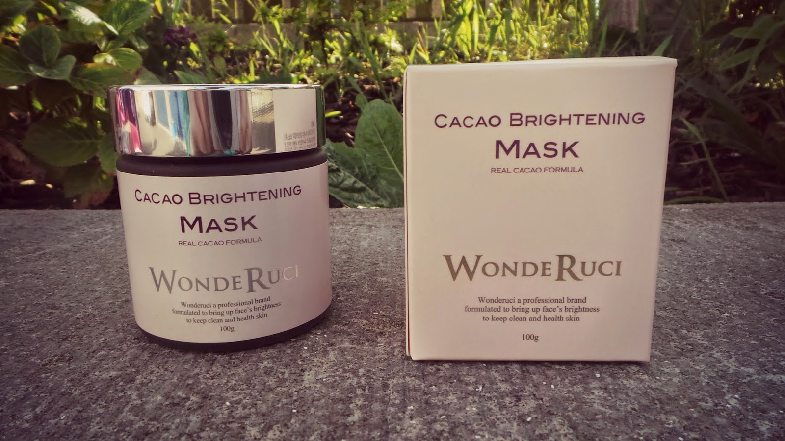 cacao brightening wonderuci mask