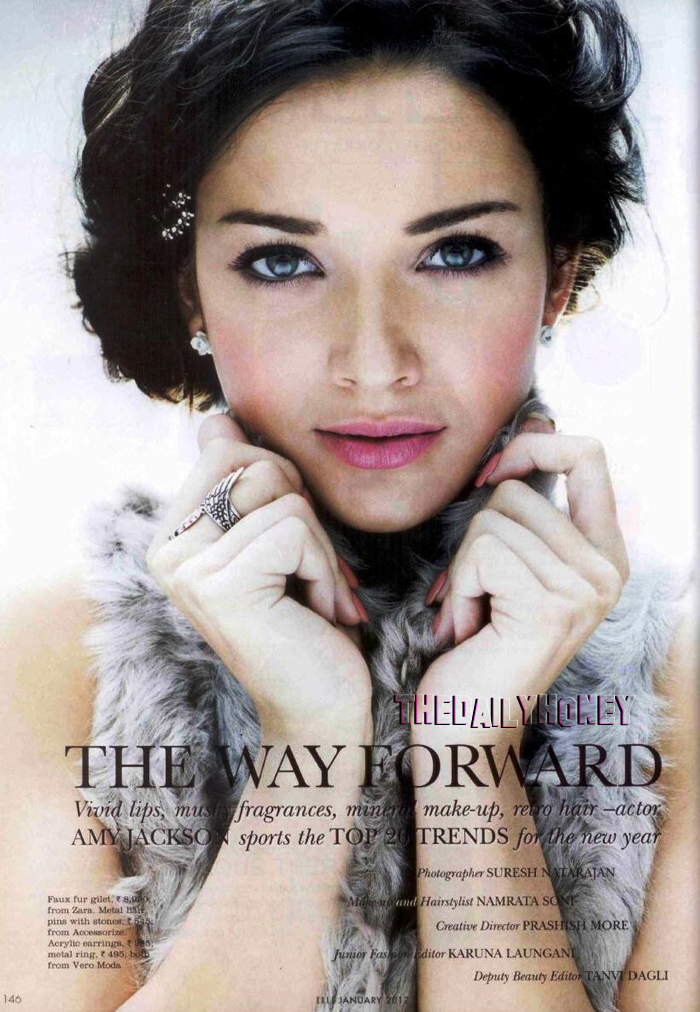 Amy Jackson Elle Scan1 - Amy Jackson Elle India 2012 Scans