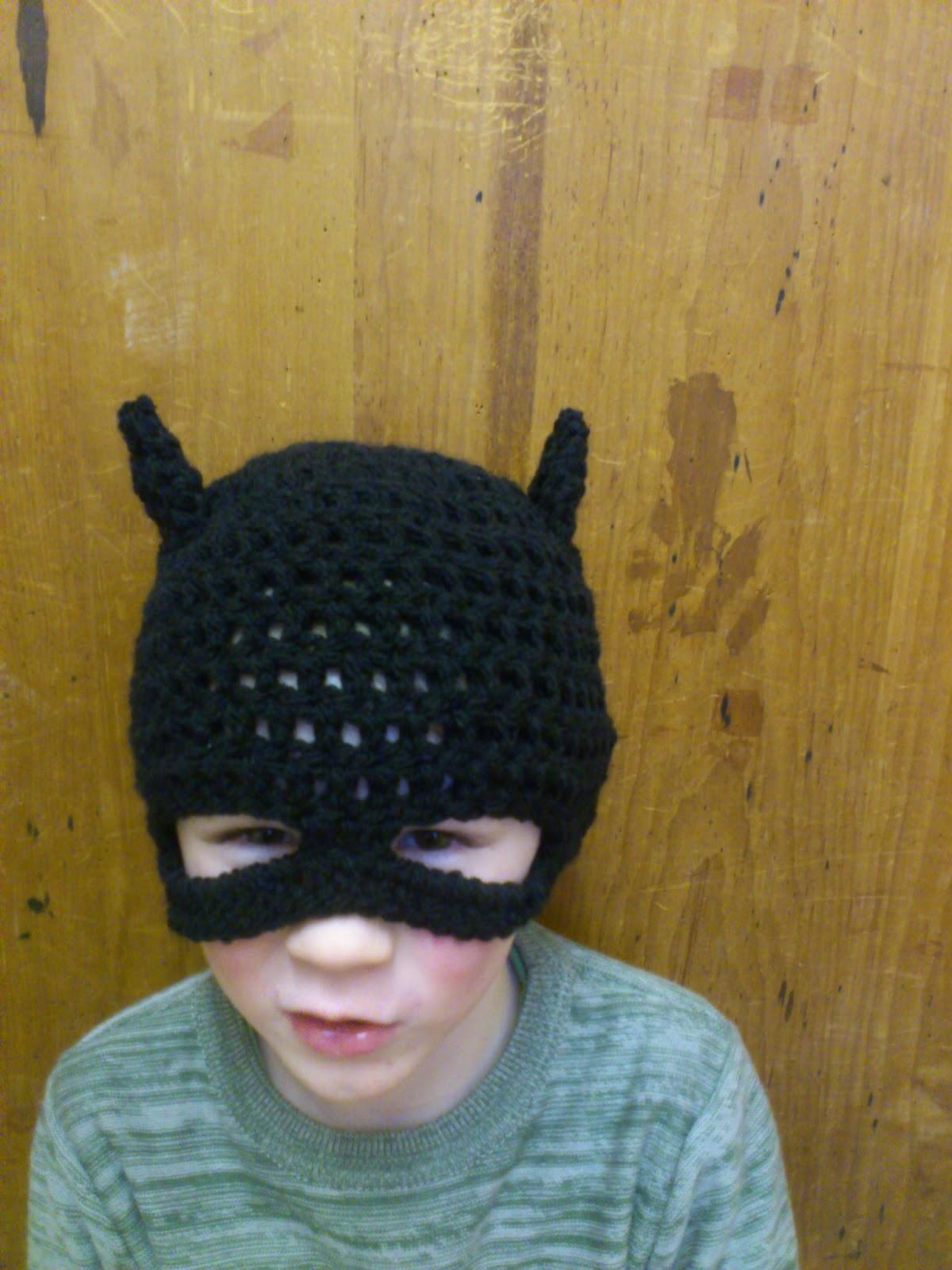 Crochet batman hat steelstitch crochet batman hat dt1010fo