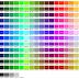 Kumpulan 216 Kode Warna CSS - Hexadecimal Colour Chart