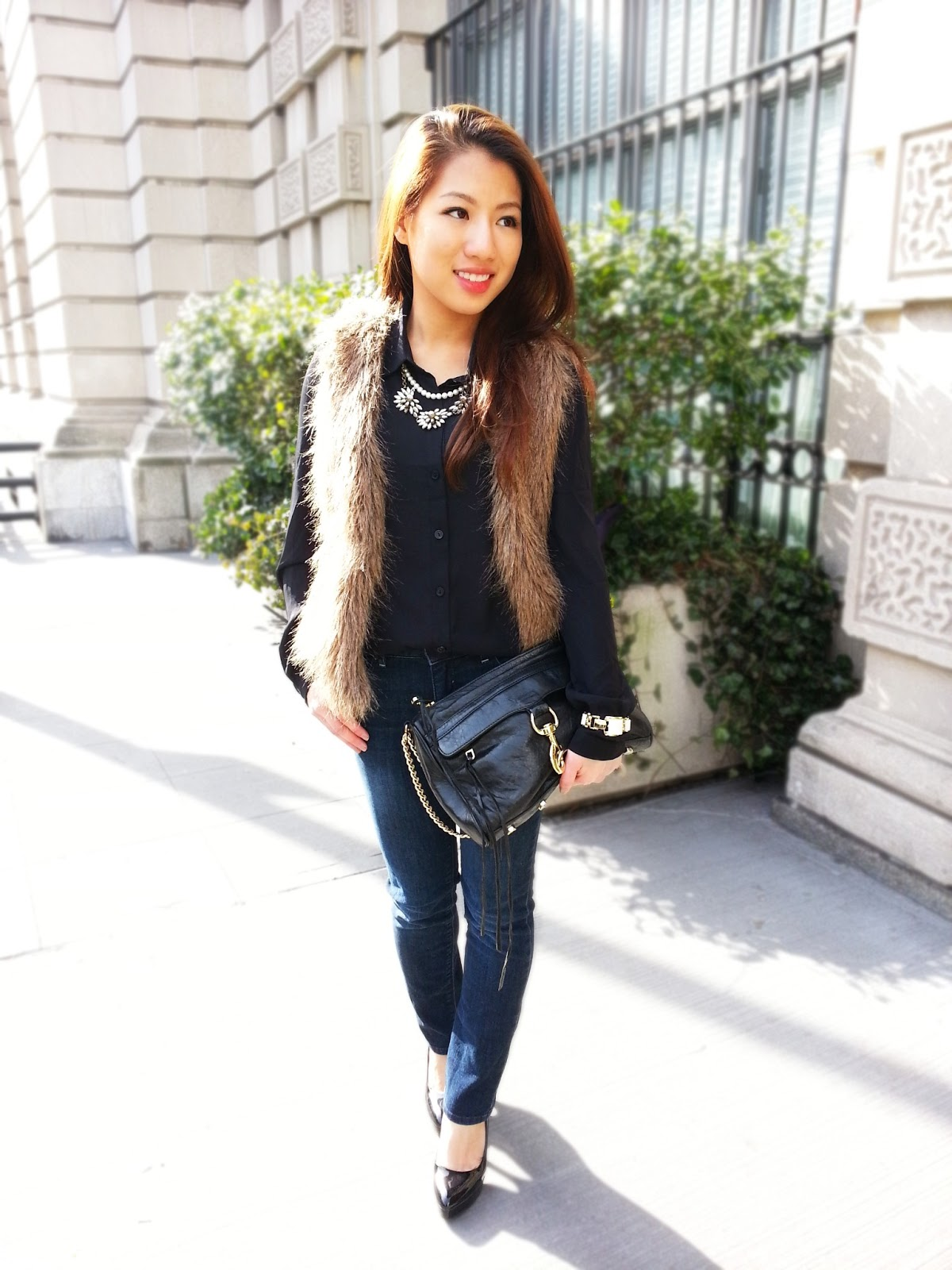 petite hues  a lifestyle blogger from new york city modern date  - modern date with fur