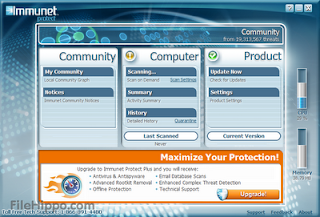 Immunet Protect Free 3.0.2.6548: Lindungi PC dari Serangan Virus