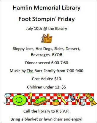 7-10 Foot Stompin' Friday
