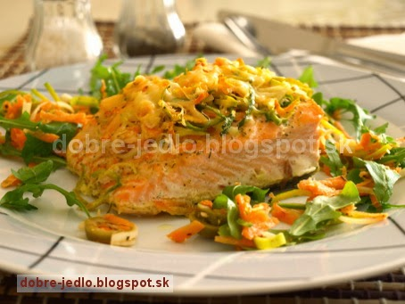 Losos so zeleninou - recepty