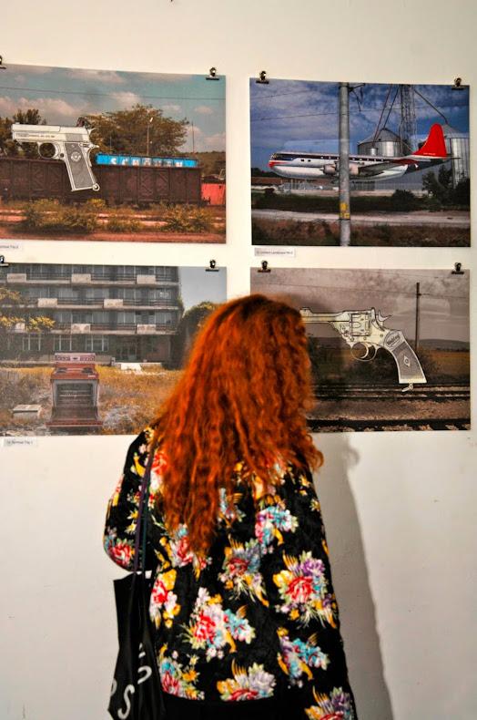 Spiritual Trip Exhibition view, Betahaus, Sofia 2014