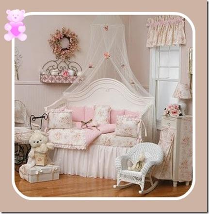 Cosy home per principi e principesse - Camerette country chic ...