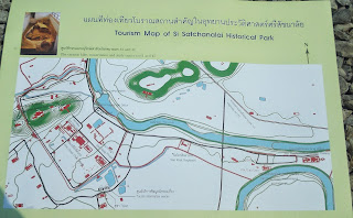 Si Satchanalai tourist map