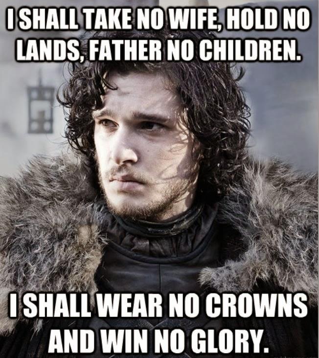 jon snow game of thrones memes