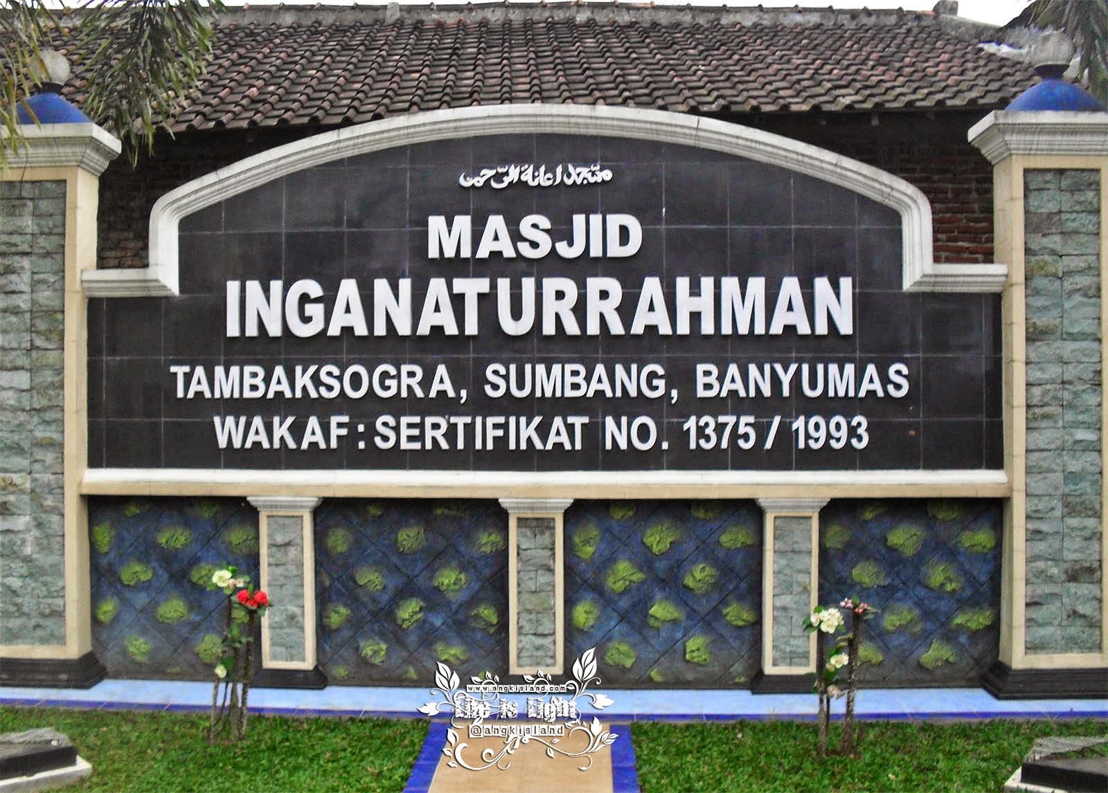 masjid inganaturahman