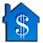 Blue House with dollar sign signifies trusted money saving mortgage tips