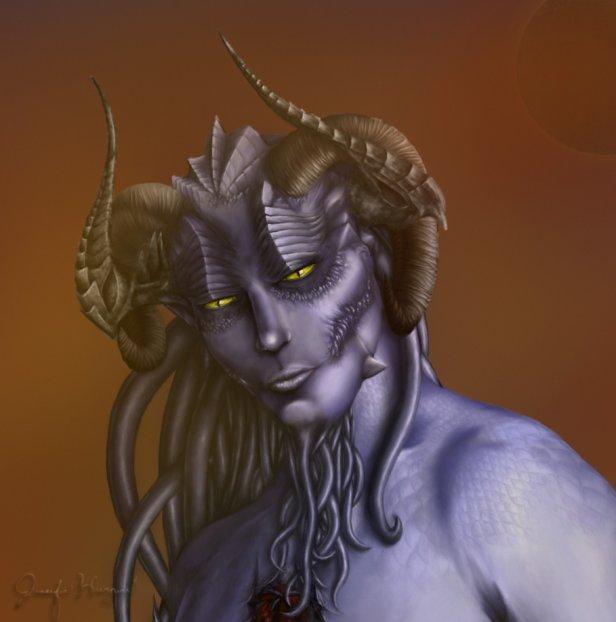 DragonsFaeriesElves&theUnseen : 'The Shur - Drow'-2013