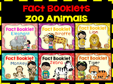 Zoo Animal Booklets