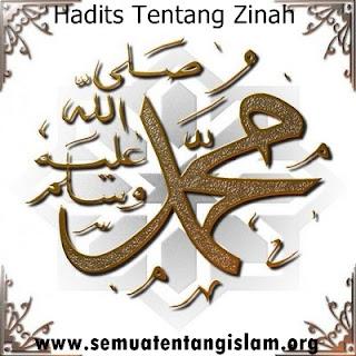 HADITS TENTANG ZINAH