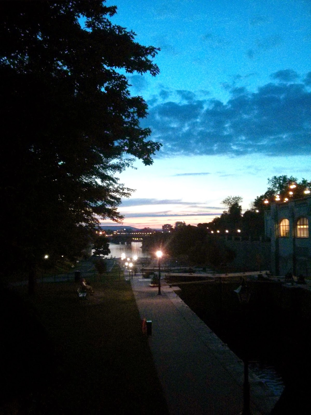 Rideau Canal Sunset