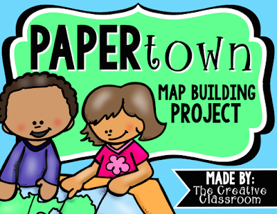 Paper Town Map Project