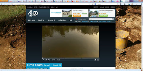 My full browser window showing 4OD and the Brittany Gite advert