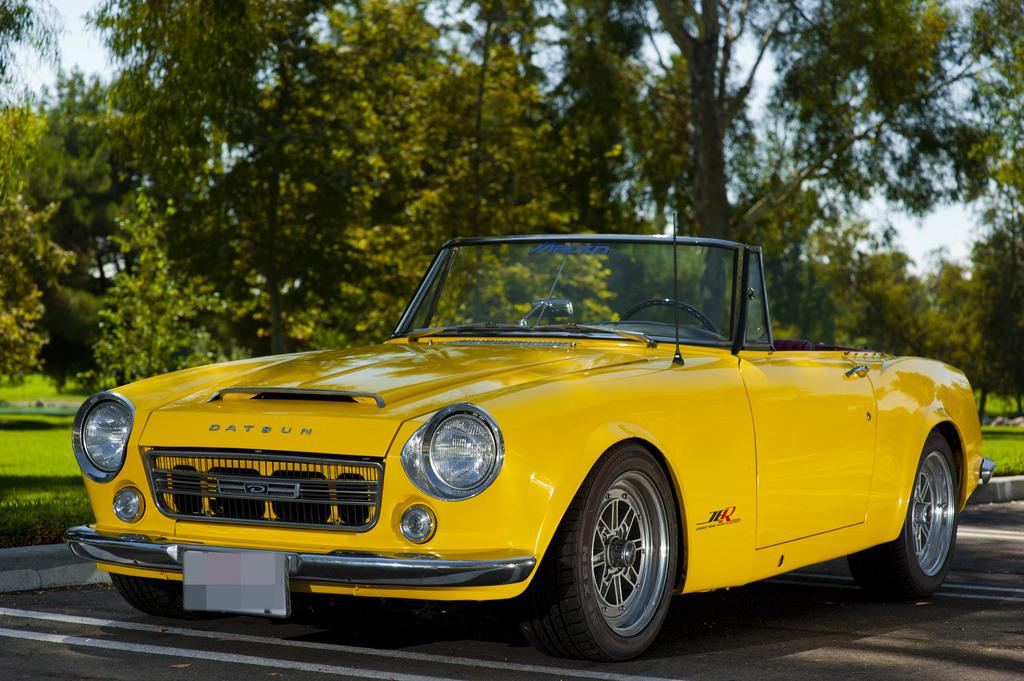 Datsun Sports, piękne roadstery, stare samochody, klasyczne auta bez dachu