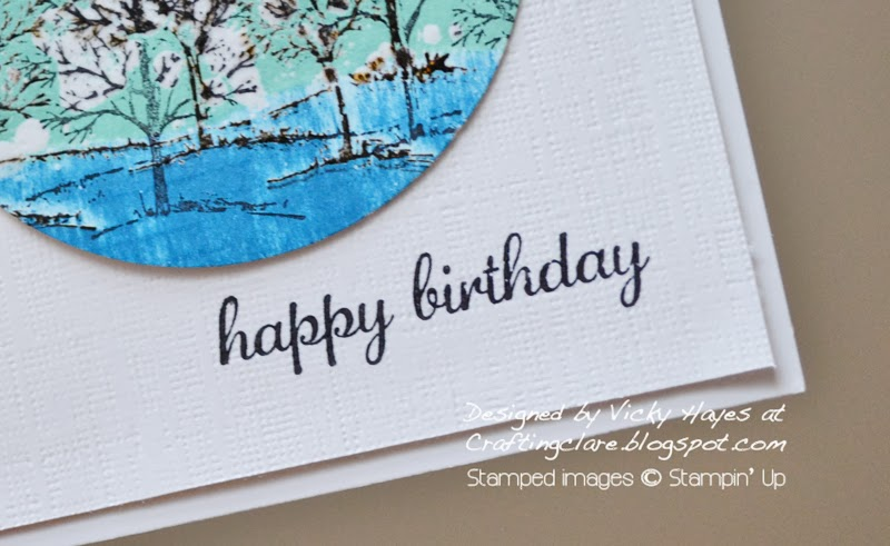 Express Yourself a hostess set from Stampin' Up available free as a member of Crafting Clare's stampers 6 club