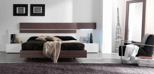 Fotografias de dormitorios de matrimonio modernos for Dormitorios matrimonio juveniles modernos