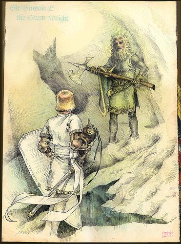 sir gawain hero essay