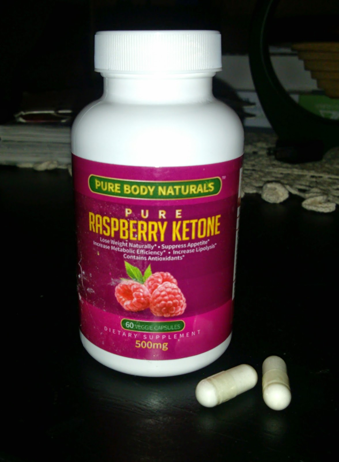 Pure Raspberry Ketone supplement Review