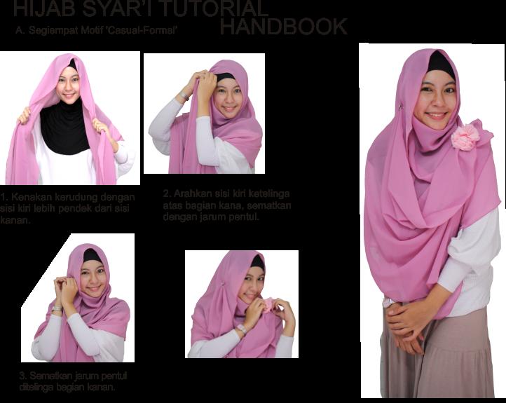 Tutorial Hijab Syariah Yang Mudah Dipraktekan