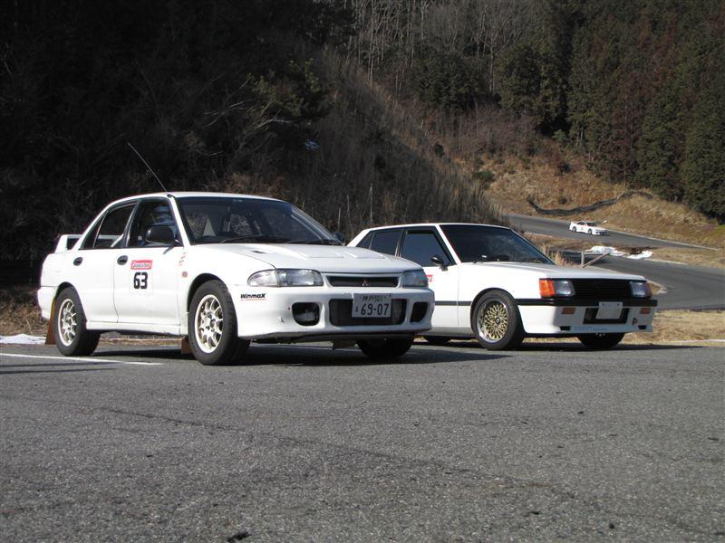Mitsubishi Lancer Evolution III & Mitsubishi Lancer II
