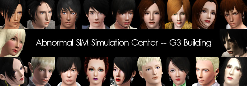 Abnormal SIM Simulation Center -- G3 Building